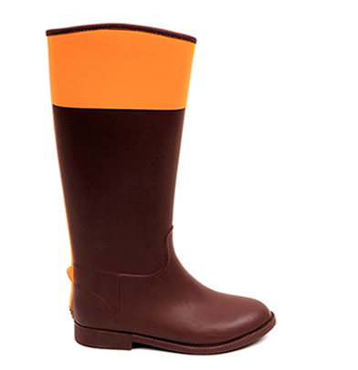 Brown and Orange / Equestrian